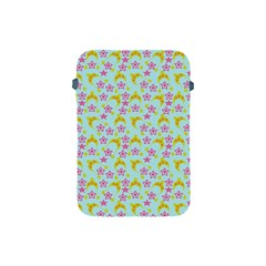 Blue Star Yellow Hats Apple Ipad Mini Protective Soft Cases by snowwhitegirl