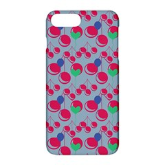Bubblegum Cherry Blue Apple Iphone 8 Plus Hardshell Case