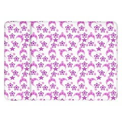 Violet Winter Hats Samsung Galaxy Tab 8 9  P7300 Flip Case by snowwhitegirl