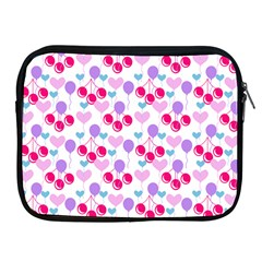 Pastel Cherries Apple Ipad 2/3/4 Zipper Cases by snowwhitegirl