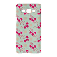Bubblegum Cherry Samsung Galaxy A5 Hardshell Case  by snowwhitegirl