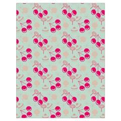 Bubblegum Cherry Drawstring Bag (large) by snowwhitegirl