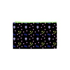 Cakes And Sundaes Black Cosmetic Bag (xs) by snowwhitegirl
