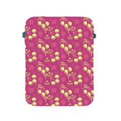 Yellow Pink Cherries Apple Ipad 2/3/4 Protective Soft Cases by snowwhitegirl