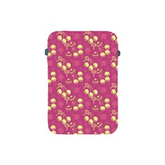 Yellow Pink Cherries Apple Ipad Mini Protective Soft Cases by snowwhitegirl