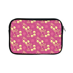 Yellow Pink Cherries Apple Ipad Mini Zipper Cases by snowwhitegirl