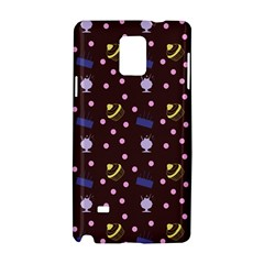 Cakes And Sundaes Chocolate Samsung Galaxy Note 4 Hardshell Case by snowwhitegirl