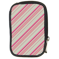Candy Diagonal Lines Compact Camera Cases by snowwhitegirl