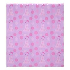 Lilac Dress Shower Curtain 66  X 72  (large)  by snowwhitegirl