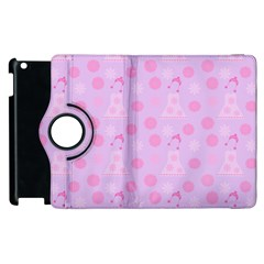 Lilac Dress Apple Ipad 2 Flip 360 Case by snowwhitegirl