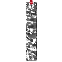 Grey Camo Large Book Marks