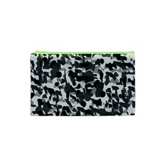 Grey Camo Cosmetic Bag (xs) by snowwhitegirl