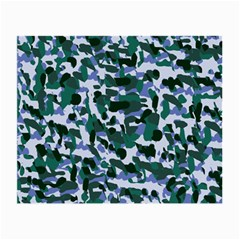 Blue Camo Small Glasses Cloth (2 Side) by snowwhitegirl