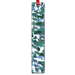 Blue Camo Large Book Marks by snowwhitegirl