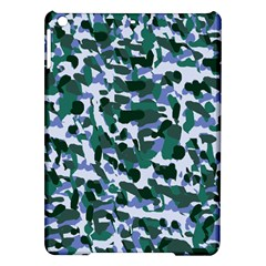 Blue Camo Ipad Air Hardshell Cases by snowwhitegirl