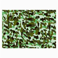 Brownish Green Camo Large Glasses Cloth by snowwhitegirl