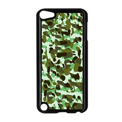 Brownish Green Camo Apple Ipod Touch 5 Case (black) by snowwhitegirl