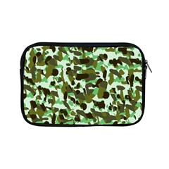 Brownish Green Camo Apple Ipad Mini Zipper Cases by snowwhitegirl