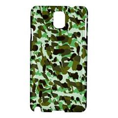 Brownish Green Camo Samsung Galaxy Note 3 N9005 Hardshell Case by snowwhitegirl