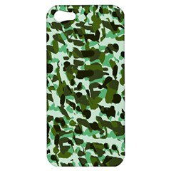Green Camo Apple Iphone 5 Hardshell Case by snowwhitegirl