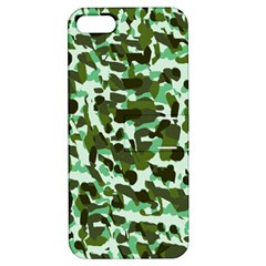 Green Camo Apple Iphone 5 Hardshell Case With Stand by snowwhitegirl