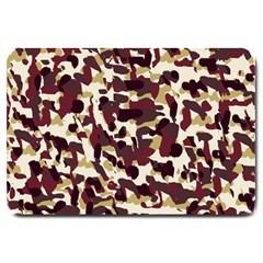 Red Camo Large Doormat