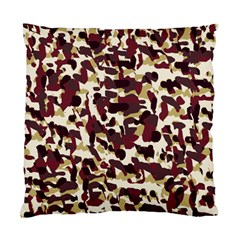 Red Camo Standard Cushion Case (two Sides) by snowwhitegirl