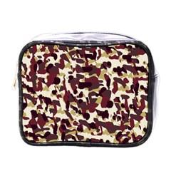 Red Camo Mini Toiletries Bags by snowwhitegirl