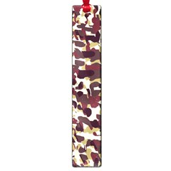 Red Camo Large Book Marks