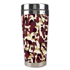 Red Camo Stainless Steel Travel Tumblers by snowwhitegirl
