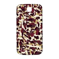Red Camo Samsung Galaxy S4 I9500/i9505  Hardshell Back Case by snowwhitegirl