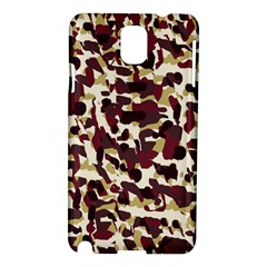 Red Camo Samsung Galaxy Note 3 N9005 Hardshell Case by snowwhitegirl