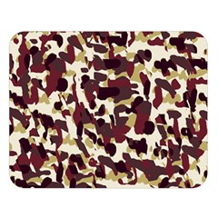 Red Camo Double Sided Flano Blanket (large)  by snowwhitegirl