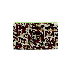Red Camo Cosmetic Bag (xs) by snowwhitegirl