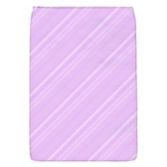 Lilac Diagonal Lines Flap Covers (s)  by snowwhitegirl