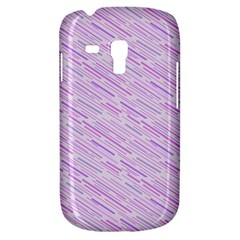 Silly Stripes Lilac Galaxy S3 Mini by snowwhitegirl