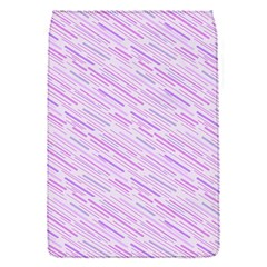 Silly Stripes Lilac Flap Covers (s)  by snowwhitegirl