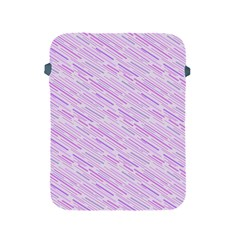 Silly Stripes Lilac Apple Ipad 2/3/4 Protective Soft Cases by snowwhitegirl