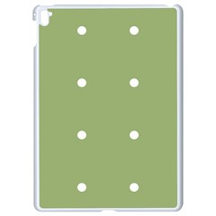 Olive Dots Apple Ipad Pro 9 7   White Seamless Case by snowwhitegirl
