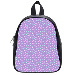 Heart Drops School Bag (small) by snowwhitegirl