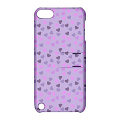 Heart Drops Violet Apple Ipod Touch 5 Hardshell Case With Stand by snowwhitegirl