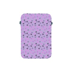 Heart Drops Violet Apple Ipad Mini Protective Soft Cases by snowwhitegirl