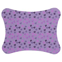 Heart Drops Violet Jigsaw Puzzle Photo Stand (bow) by snowwhitegirl