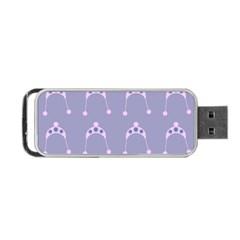 Pink Hat Portable Usb Flash (one Side) by snowwhitegirl