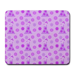 Purple Dress Large Mousepads by snowwhitegirl