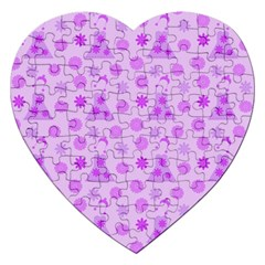 Purple Dress Jigsaw Puzzle (heart)