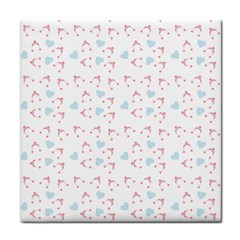 Pink Hats Tile Coasters