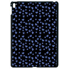Blue Hearts Apple Ipad Pro 9 7   Black Seamless Case by snowwhitegirl