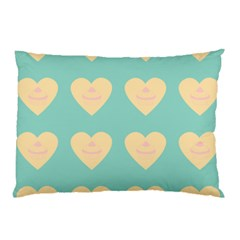 Teal Cupcakes Pillow Case by snowwhitegirl