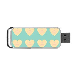 Teal Cupcakes Portable Usb Flash (two Sides) by snowwhitegirl